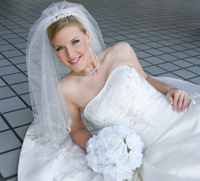 Bridal portrait shoot with Cynthia at St. Thomas University in Houston.