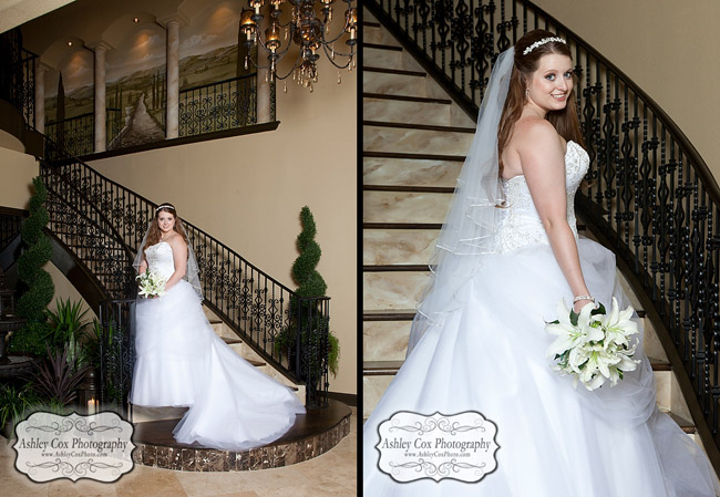 Tiffany's bridal portrait session at Di Amici Upscale Events in Seabrook, Texas on June 11, 2012.