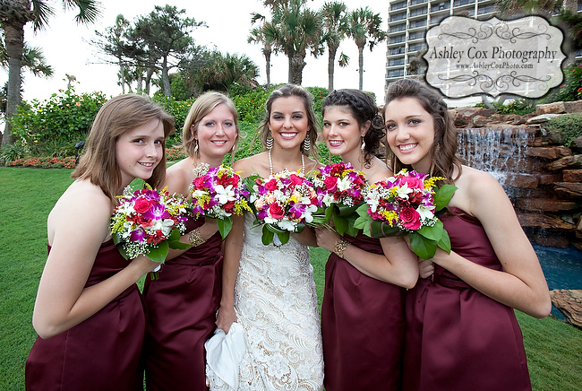 The wedding of Amanda and Nathan at the San Luis Resort in Galveston.