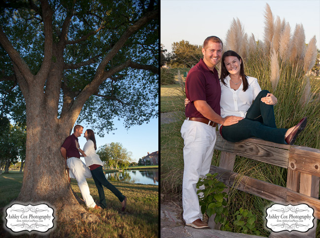 Shelly and Jonathan's Engagement Portraits at South Shore Harbour Country Club