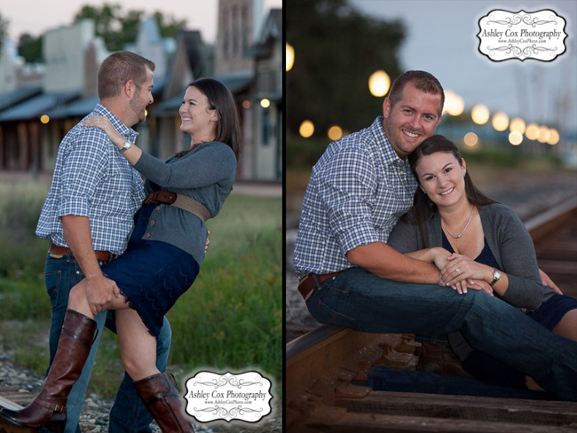 Shelly and Jonathan's Engagement Portraits in League City